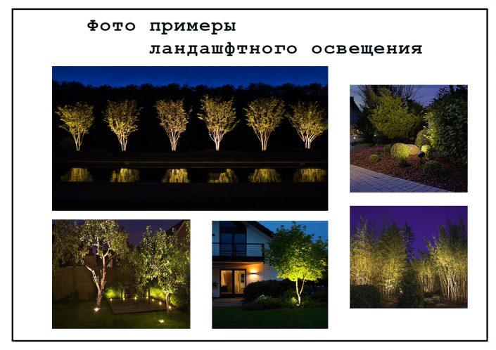 Проект освещения в ландшафтном дизайне