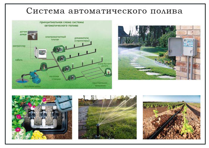 Проект системы автоматического полива