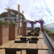 Ресторан в стилистике корабля с авторским дизайном