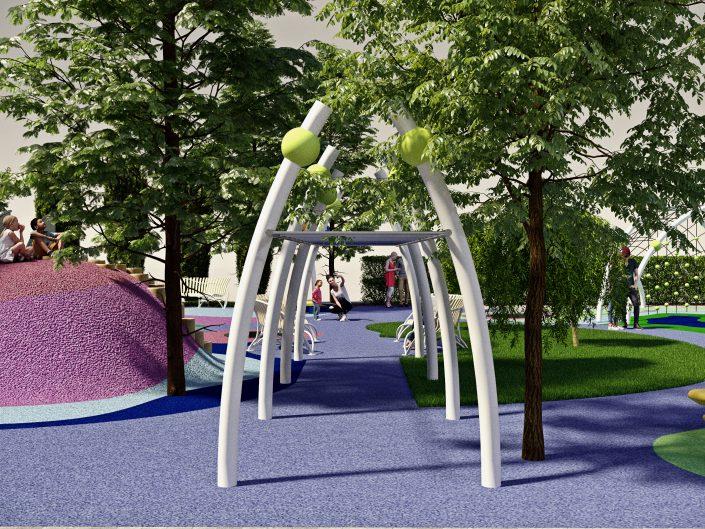 Ландшафт детской площадки