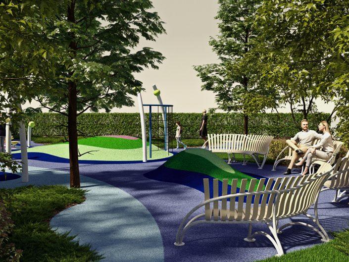 Визуализация детской площадки