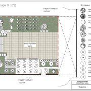 Ландшафтное проектирование участка школы